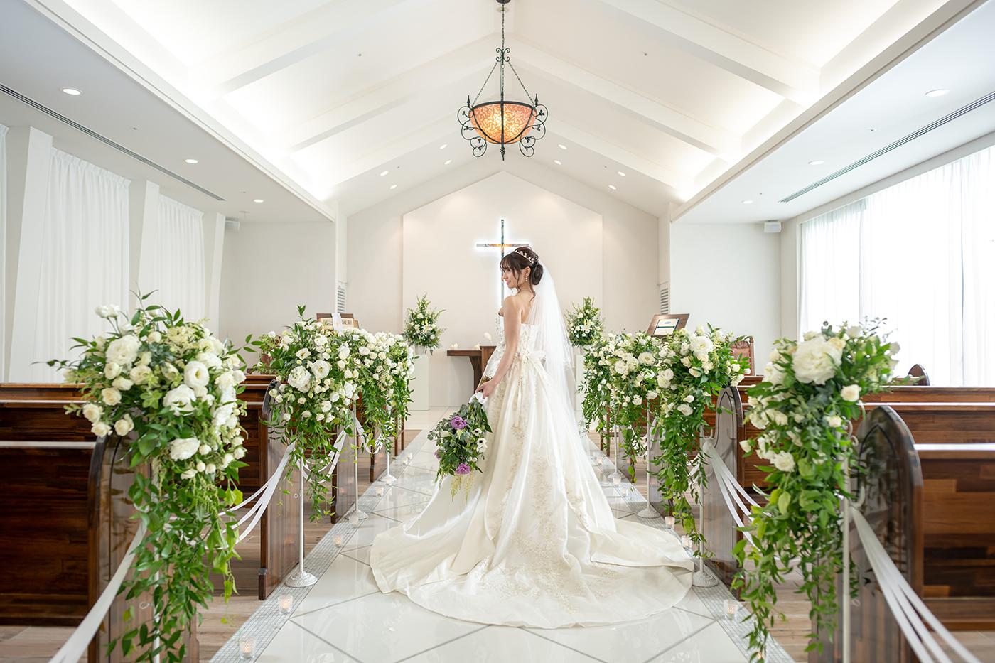 【ドレスにこだわりたい花嫁さま必見!】ドレス試着付き見学相談フェア
